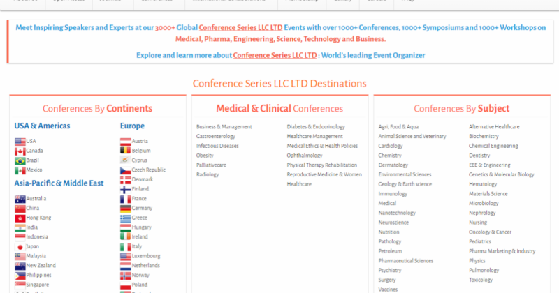 The 36th International Conference on Dentistry and Dental Marketing – How I Stumbled Upon The World of Fake Conferences